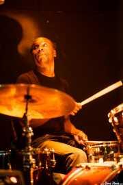Carlos Dalelane, baterista de Los Reyes del KO, Hell Dorado, Vitoria-Gasteiz. 2009
