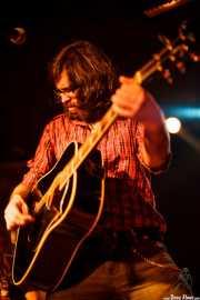 Javier Vielba, cantante y guitarrista de Arizona Baby, Sala Azkena, Bilbao. 2009