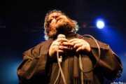 Ebbot Lundberg, cantante de The Soundtrack of Our Lives (Kafe Antzokia, Bilbao, 2009)