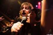 Ebbot Lundberg, cantante de The Soundtrack of Our Lives (Guantxe de espontáneo) (Kafe Antzokia, Bilbao, 2009)