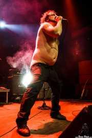 "Manu ""Gallego"", cantante de Porco Bravo, Kafe Antzokia, 2010"