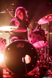 Urko Roa, baterista de The Dirty Pink Ladies, Plateruena Antzokia, Durango. 2010
