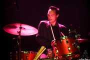 """Jason """"Teen beat"""" Smay, baterista de The Hi-Risers, Plateruena Antzokia, Durango. 2010"""