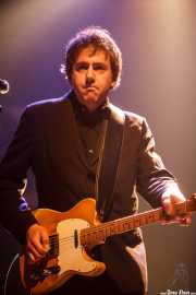 Greg Townson, guitarrista y cantante de The Hi-Risers, Plateruena Antzokia, Durango. 2010
