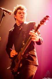Mikel Yarza, guitarrista de Roy Loney & Señor No (Plateruena Antzokia, Durango, 2010)