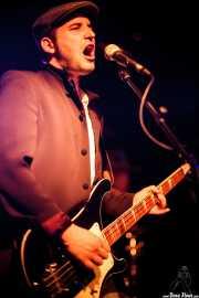 Borja González, bajista de Those Radios, Sala Azkena, 2010
