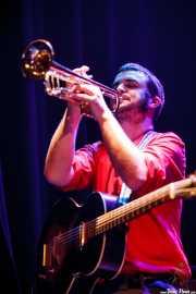 Hannot Mintegia, guitarrista, trompetista y cantante de Audience, Bilborock. 2010