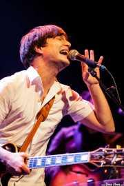 Gaizka Insunza, cantante, pianista, guitarrista y saxofonista de Audience , Bilborock. 2010