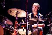Mikel Sagarna, baterista de Audience, Bilborock. 2010