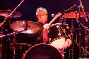 Grant Nicholas, baterista de The Godfathers (Kafe Antzokia, Bilbao)