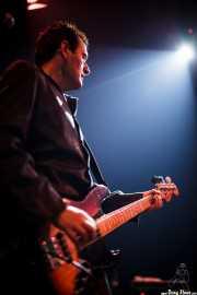 Chris Coyne, bajista de The Godfathers (Kafe Antzokia, Bilbao)
