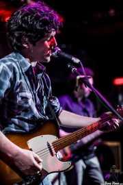 Txomin Guzmán -cantante y guitarrista-, y Juan Uribe -bajista- de The Fakeband, Bilbao. 2010
