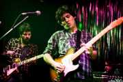 Pit Idoyaga -guitarrista- y Txomin Guzmán -cantante y guitarrista- de The Fakeband, Bilbao. 2010