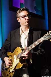 Joel Peterson, guitarrista de Deke Dickerson and the Modern Sounds, Hotel Casa Fuster, Barcelona. 2010