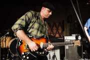 Deke Dickerson, cantante y guitarrista de Untamed Youth, Hotel Casa Fuster, Barcelona. 2010
