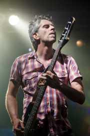 Jacques de Haard, bajista de Garcia Plays Kyuss, Santana 27. 2010