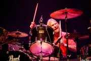 Matt Abts, baterista de Gov't Mule (Azkena Rock Festival, Vitoria-Gasteiz, 2010)