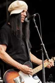 Dan Baird, guitarrista y cantante de Dan Baird and Homemade Sin (Azkena Rock Festival, Vitoria-Gasteiz, 2010)