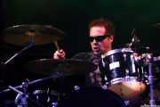 Pinch, baterista de The Damned, Azkena Rock Festival, Vitoria-Gasteiz. 2010