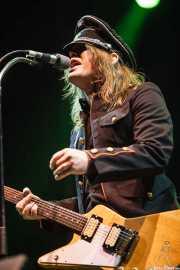 Nicke Andersson, cantante y guitarrista de Imperial State Electric (Azkena Rock Festival, Vitoria-Gasteiz, 2010)
