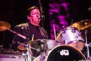 Kenney Dale Johnson, baterista de Chris Isaak, Azkena Rock Festival, Vitoria-Gasteiz. 2010