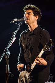 Justin Sane, cantante y guitarrista de Anti-Flag, Bilbao BBK Live, Bilbao. 2010