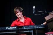 Martin Hederos, teclista de The Soundtrack of Our Lives (Bilbao BBK Live, Bilbao, 2010)