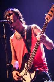 """Txelu """"Porco"""", bajista de Porco Bravo, Bilborock, 2010"""