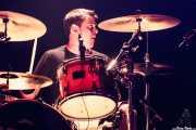 "Oscar ""Puro d'oliva"", baterista de Porco Bravo, Bilborock, 2010"