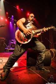 "Asier ""Indomable"", guitarrista de Porco Bravo, Bilborock, 2010"