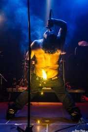 """Manu """"Gallego"""", cantante de Porco Bravo, Bilborock, 2010"""