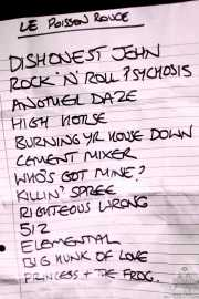 Setlist de The Jim Jones Revue (Le Poisson Rouge, Nueva York, 2010)