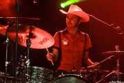 """Roberto Lozano """"Loza"""", baterista de Los Coronas, Turborock, Sarón. 2010"""