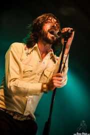 Miguel Pardo, cantante de Sex Museum, Turborock, 2010