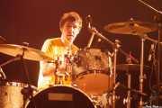 Roy McDonald, baterista de Redd Kross, Turborock, Sarón. 2010
