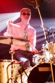 Tad Hutchison, baterista de Young Fresh Fellows (Turborock, Sarón, 2010)