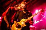 Mattias Bärjed -guitarra- y Ian Person -guitarra- de The Soundtrack of Our Lives (Turborock, Sarón, 2010)