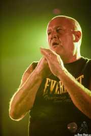 Colin McFaull, cantante de Cock Sparrer (Landako Gunea, Durango, 2010)