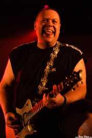 Daryl Smith, guitarrista de Cock Sparrer (Landako Gunea, Durango, 2010)