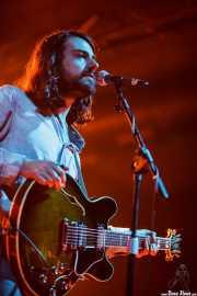 Álvaro Sanjuán del Castillo, bajista y guitarrista de Hola A Todo El Mundo (Santana 27, Bilbao, 2010)