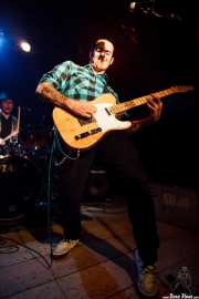 Blas Picón -batería- y Mario Cobo -guitarra y voz- de The Nu Niles, Sala Azkena, Bilbao. 2010