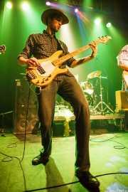 Iker Ramos, bajista de The Riff Truckers (Bilborock, Bilbao, 2010)