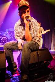 "Gorka Roman ""Osman"",cantante,guitarrista de The Riff Truckers (Bilborock, Bilbao, 2010)"