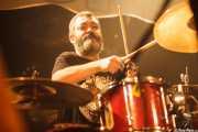 Dani Garcés, baterista de Motociclón (Santana 27, Bilbao, 2010)