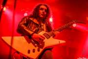 """Óscar Hernández """"Trash"""", guitarrista de Motociclón (Santana 27, Bilbao, 2010)"""