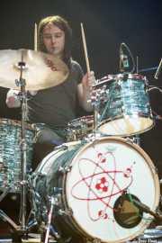 Jesús España, baterista de Los Tupper, Kafe Antzokia, Bilbao. 2010