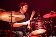 Natxo Beltrán,baterista de Atom Rhumba (Kafe Antzokia, Bilbao, 2010)