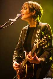 Maika Makovski, cantante, guitarrista y teclista, Kafe Antzokia, Bilbao. 2011