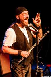 Ian Anderson, cantante, flautista y ukelele de Jethro Tull / Ian Anderson Band (Sala BBK, Bilbao, 2011)