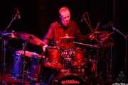 Scott Hammond, baterista de Jethro Tull / Ian Anderson Band (Sala BBK, Bilbao, 2011)